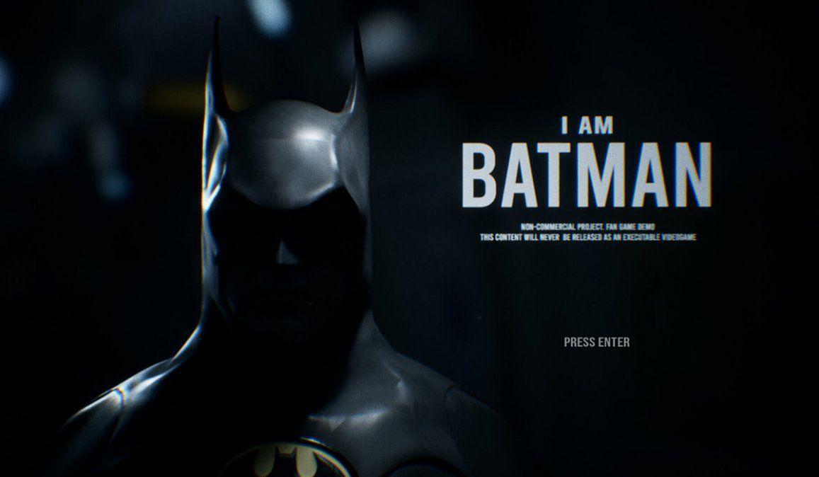 Recorran el mundo The Batman de la película de Tim Burton en este fan game