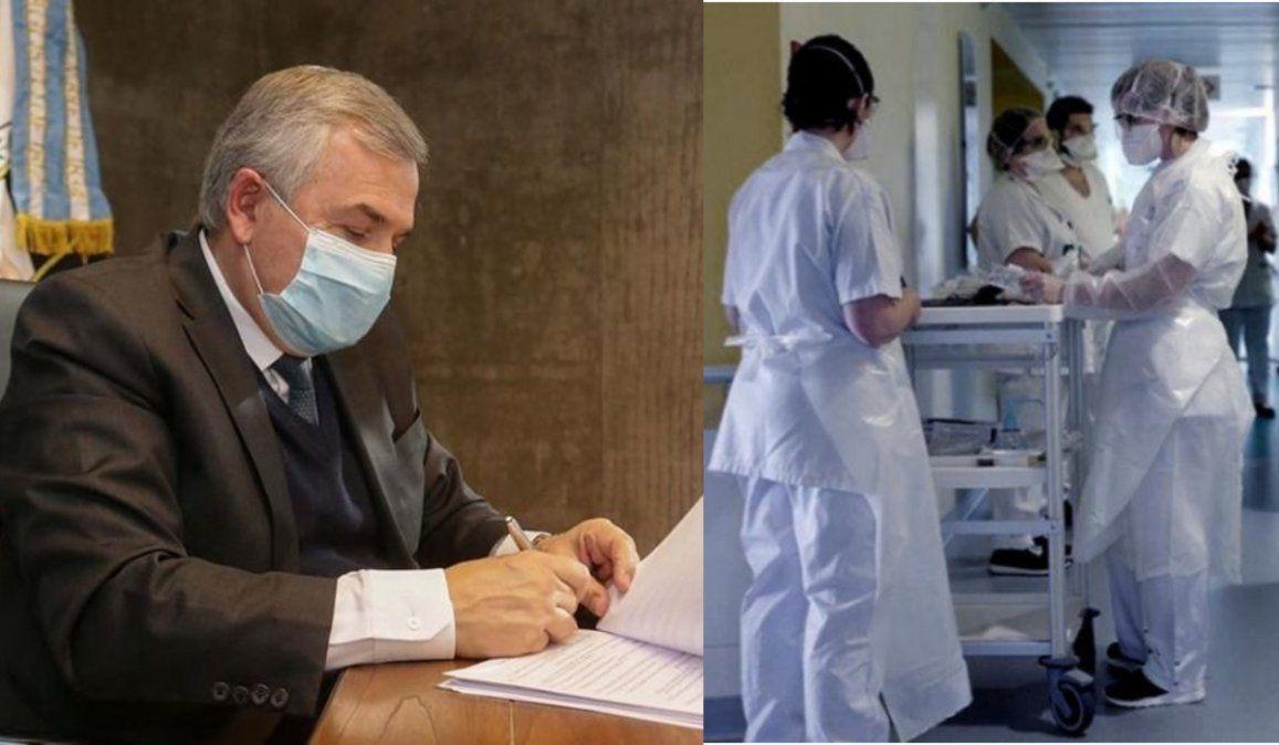El gobierno podrá multar, inhabilitar y hasta arrestar a trabajadores de la salud