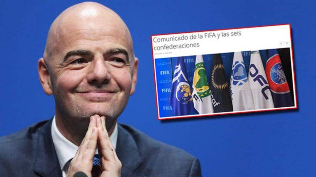La FIFA vs la Superliga de Europa