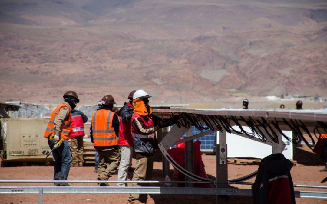 Parque solar: Morales asegura que está todo dado para ampliar el proyecto