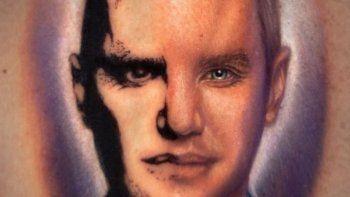 La locutora de Masterchef Celebrity 2 se tatuó la cara de Santiago del Moro