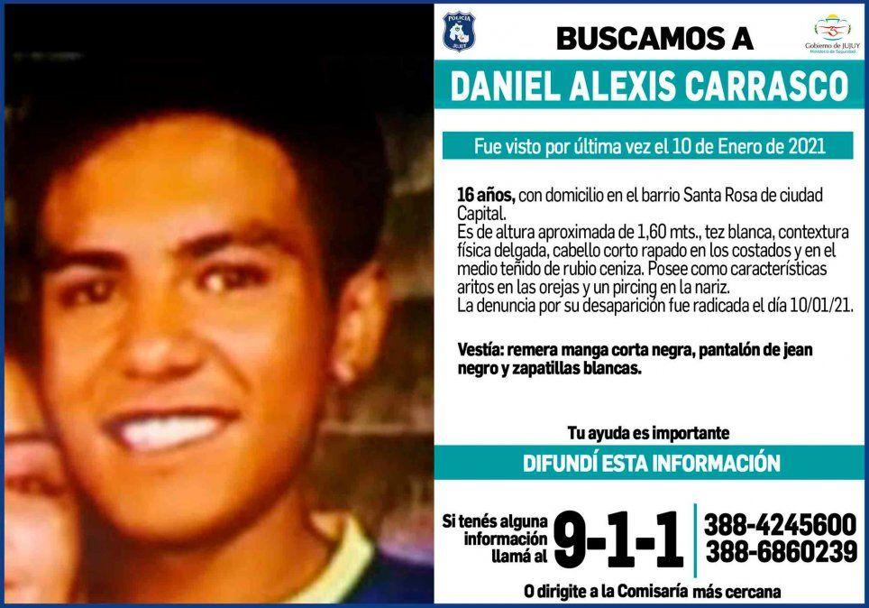 Preocupación por otro joven de 16 años que está desaparecido