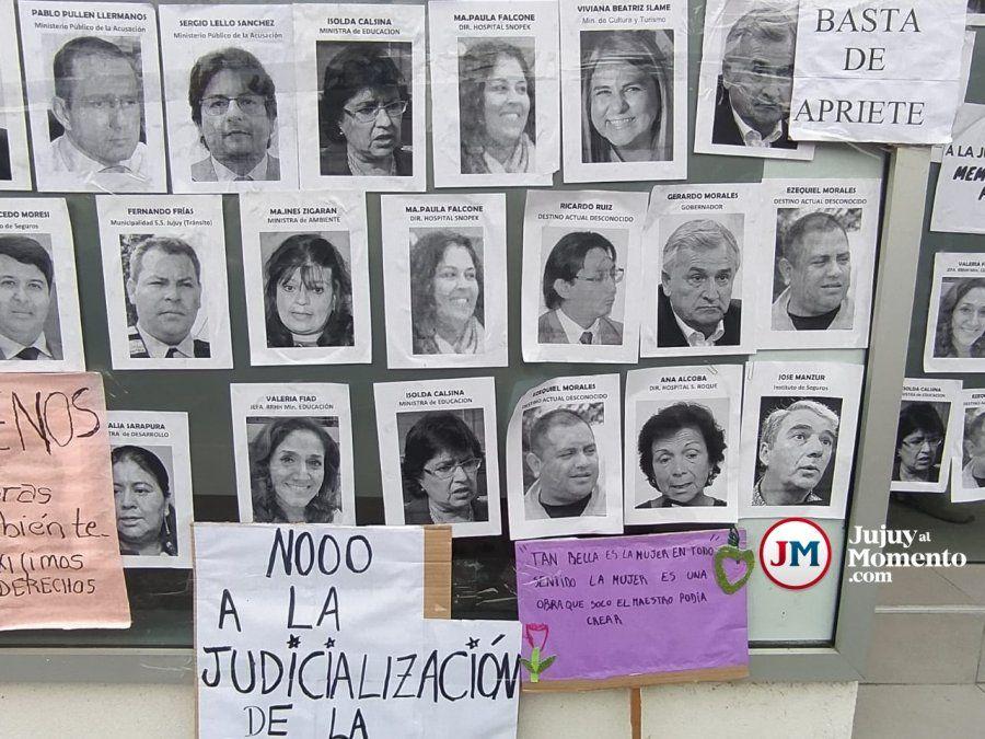 Escrache a funcionarios en el 8M: quiénes fueron los apuntados