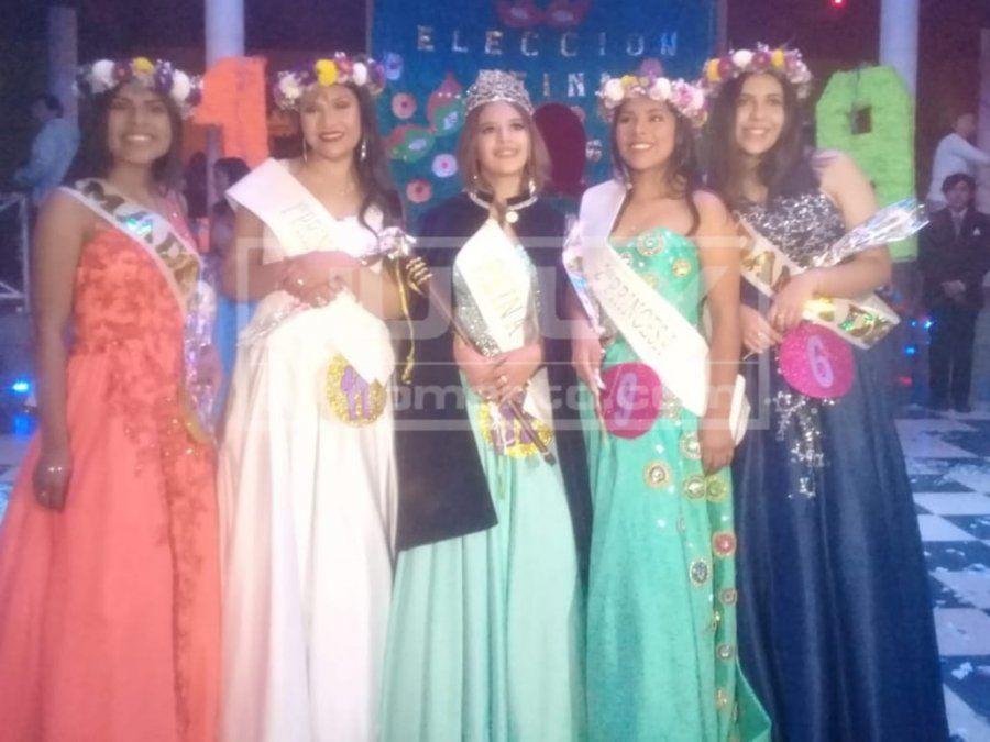 Victoria Tantos es la nueva reina del Bachillerato Provincial N°16