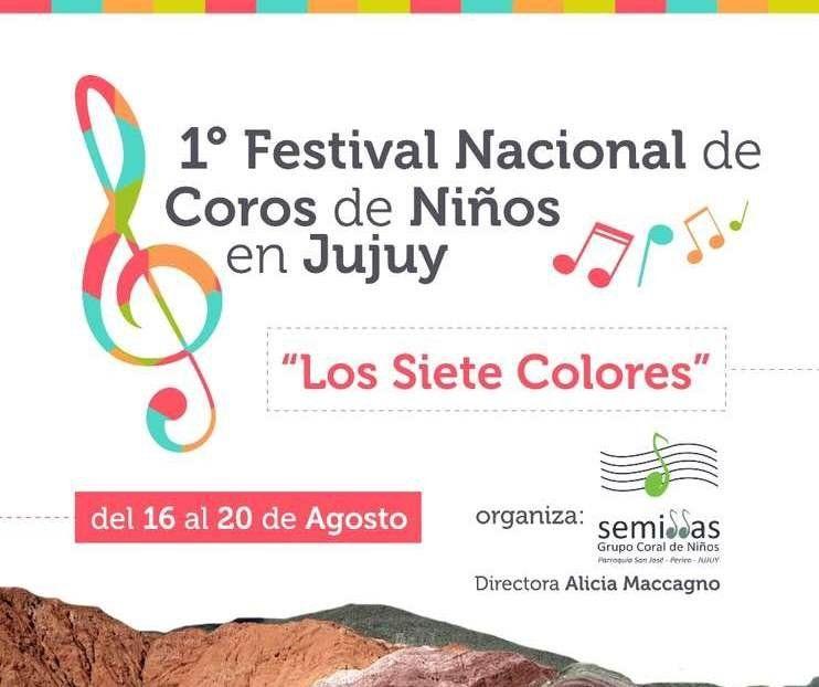 Jujuy tendrá su Primer Festival Nacional de Coros