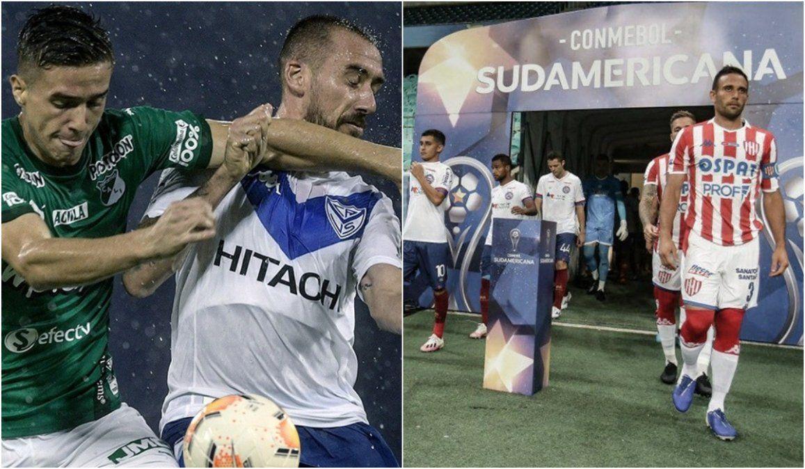 Vélez casi clasificado y Unión por el pase, se la juegan en la Sudamericana