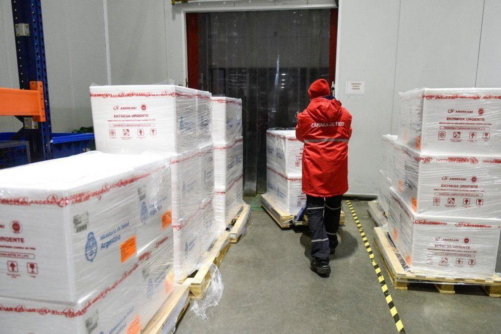 Jujuy recibe 6.600 segundas dosis de la vacuna Sputnik V