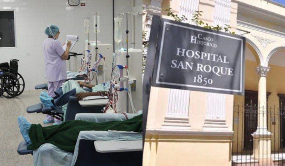 Pacientes con insuficiencia renal piden una sala de aislamiento en el San Roque