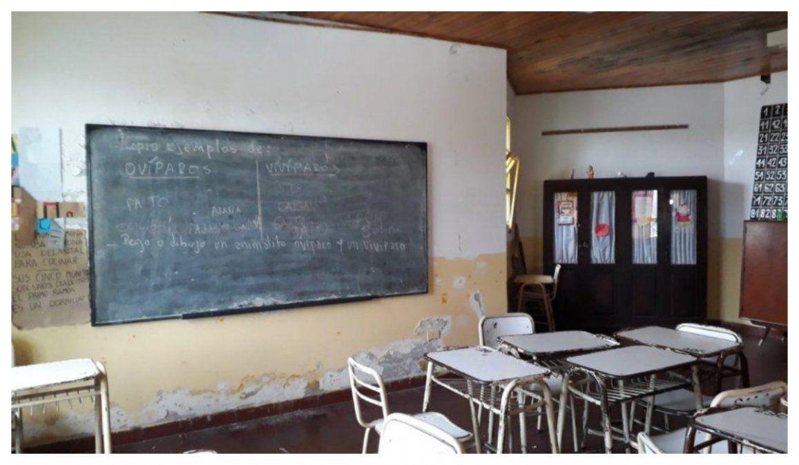 Docentes piden la urgente declaración de la emergencia educativa