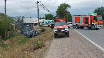 Accidente fatal en el cruce San Antonio: dos adultos y un menor fallecieron