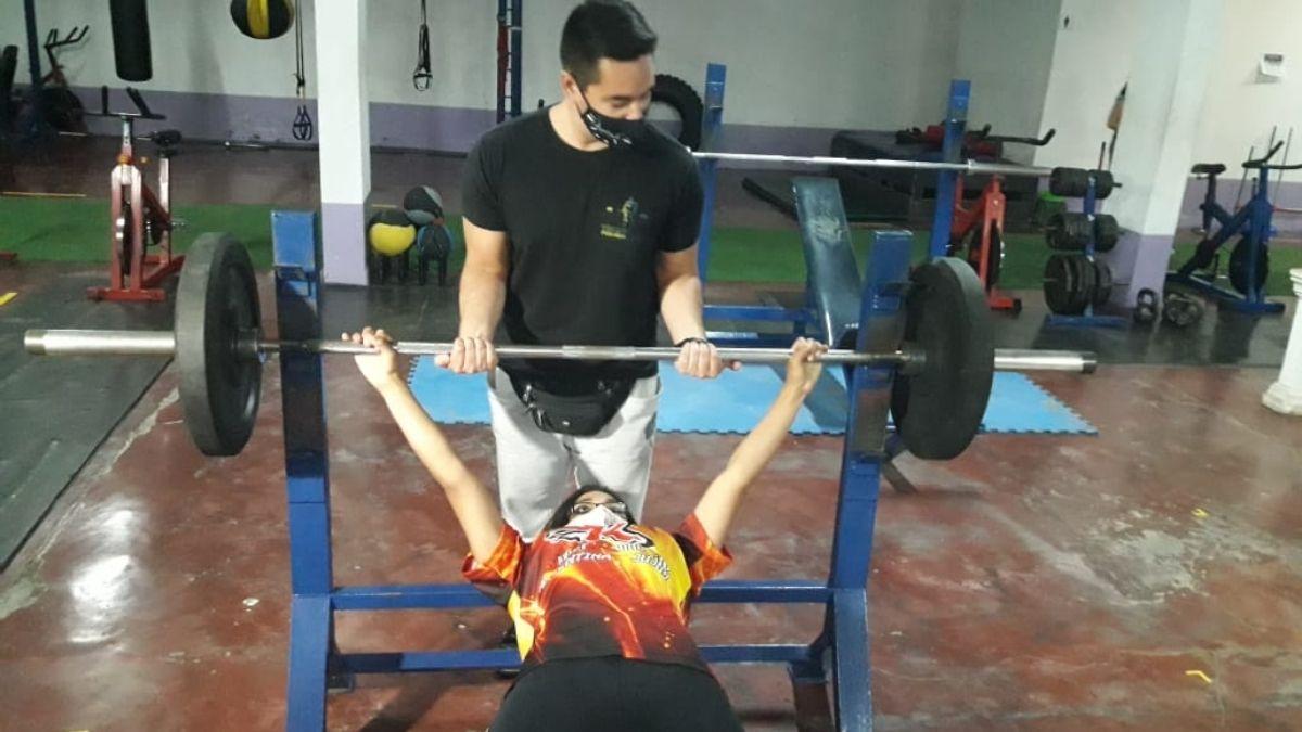 Anaquín buscará la clasificación al mundial en el argentino de powerlifting