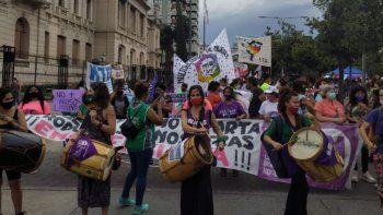 Con un fuerte mensaje, Jujuy marchó por el Día de la Mujer