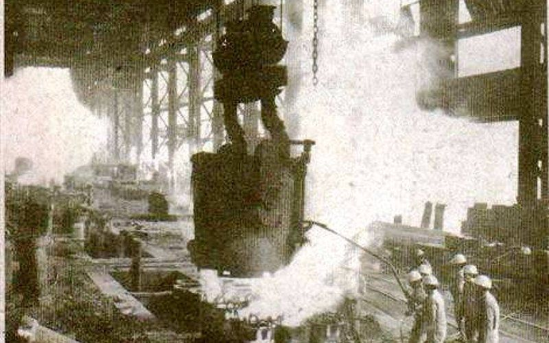 Hoy se cumplen 73 años de la primera colada de arrabio argentino