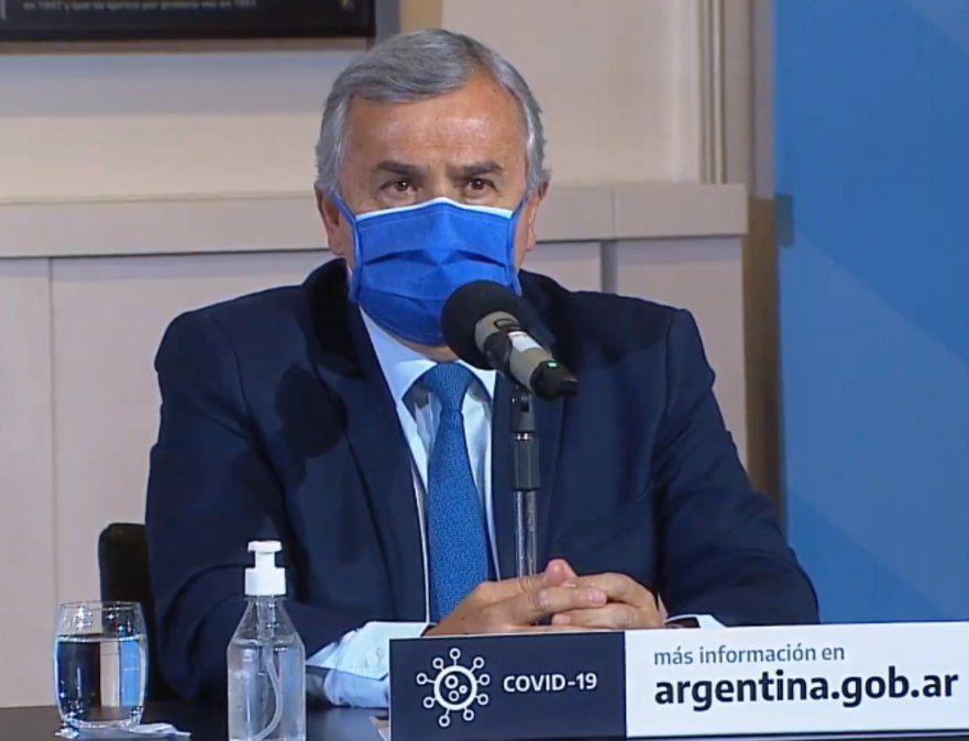 Morales en Casa Rosada: apoyo total al presidente y temor por rebrotes