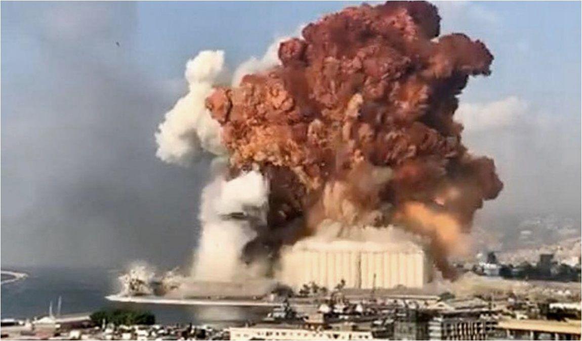 Ya son más de 100 los muertos por la explosión en Líbano
