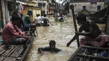 Al menos 25 personas murieron a causa de las inundaciones en la India