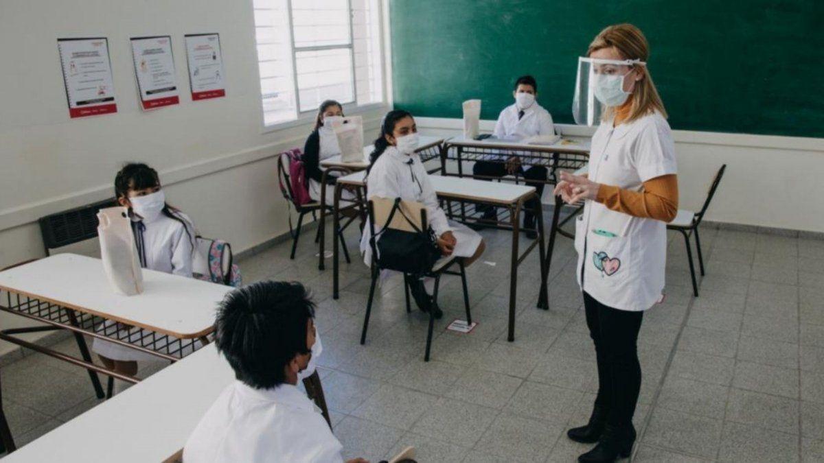 Así fue el retorno a clases presenciales en San Juan