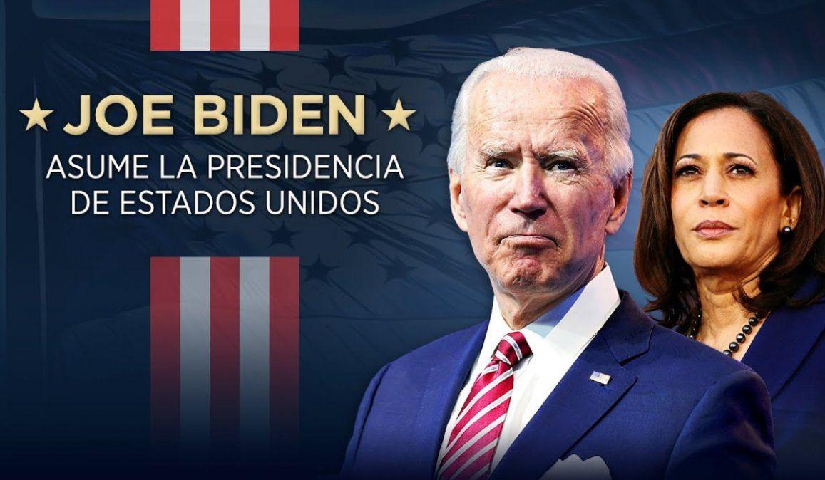 Minuto a minuto: Joe Biden asume como presidente de Estados Unidos