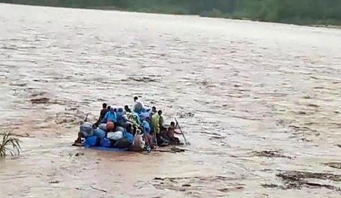 Viralizan un video de minutos previos a la tragedia en Salta
