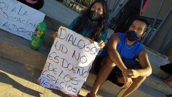 Vecinos de Campo Verde repudiaron el discurso de Morales: