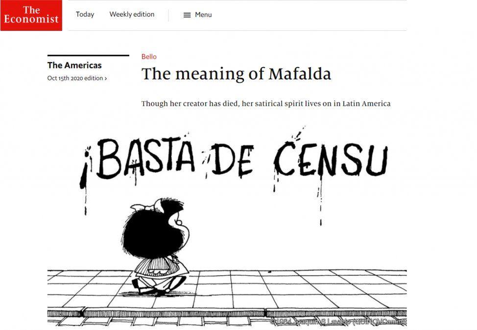 Según The Economist, la economía argentina es una de las peores del mundo