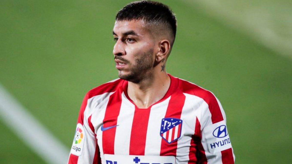 Ángel Correa, sin Champions: dio positivo de coronavirus
