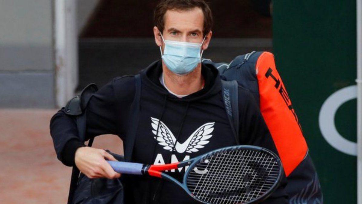 Andy Murray con coronavirus y es duda para el Abierto de Australia