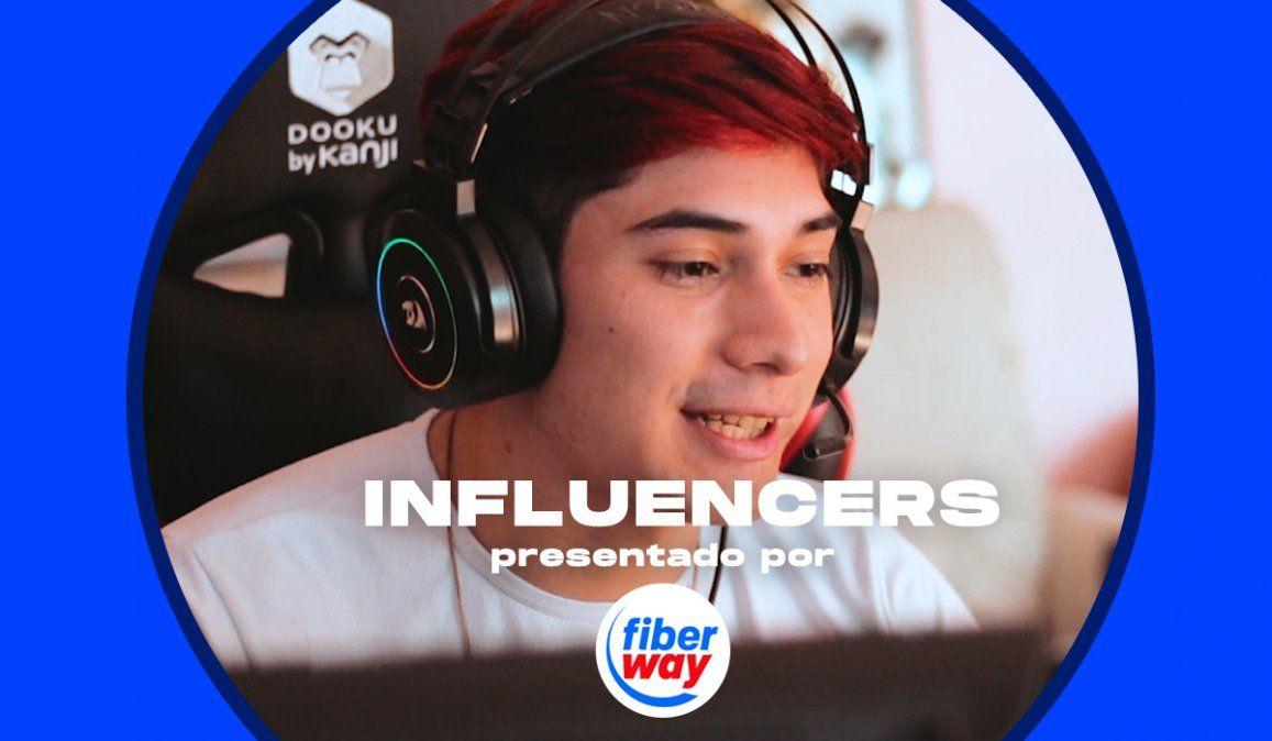 Influencers: Leandroo 4k el streamer jujeño más visto