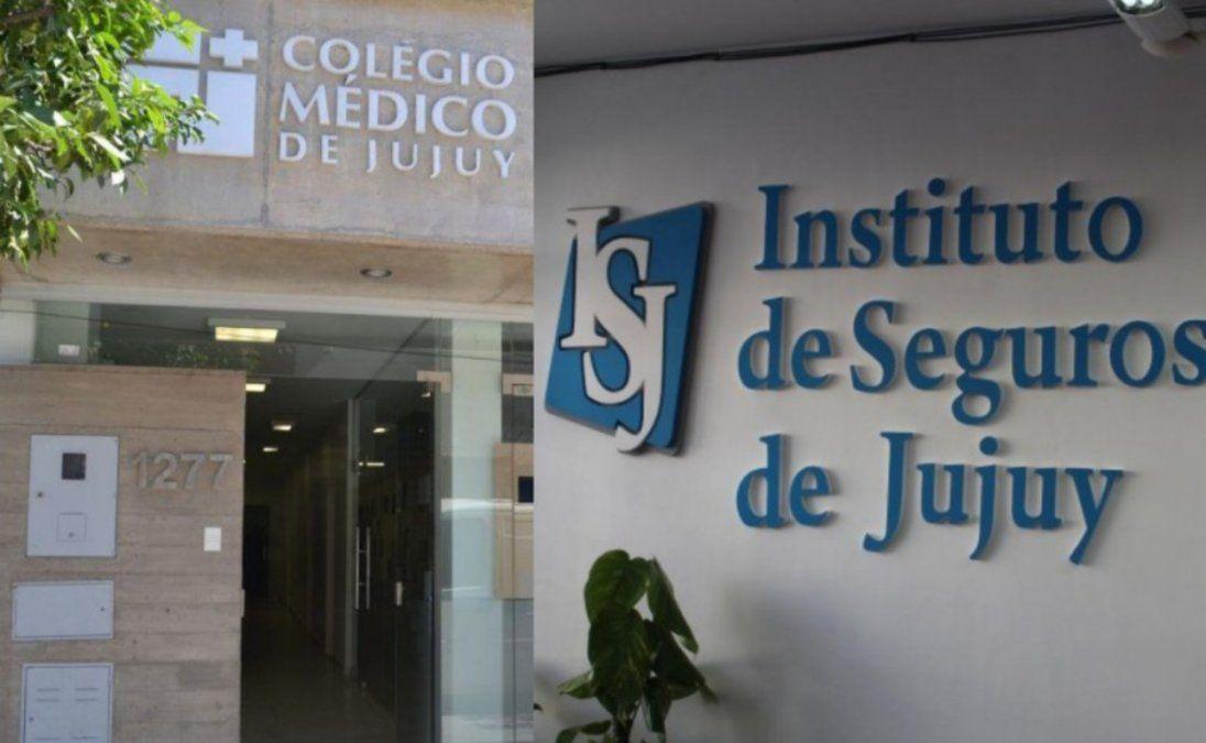 Nueva deuda del Instituto de Seguros con el Colegio Médico