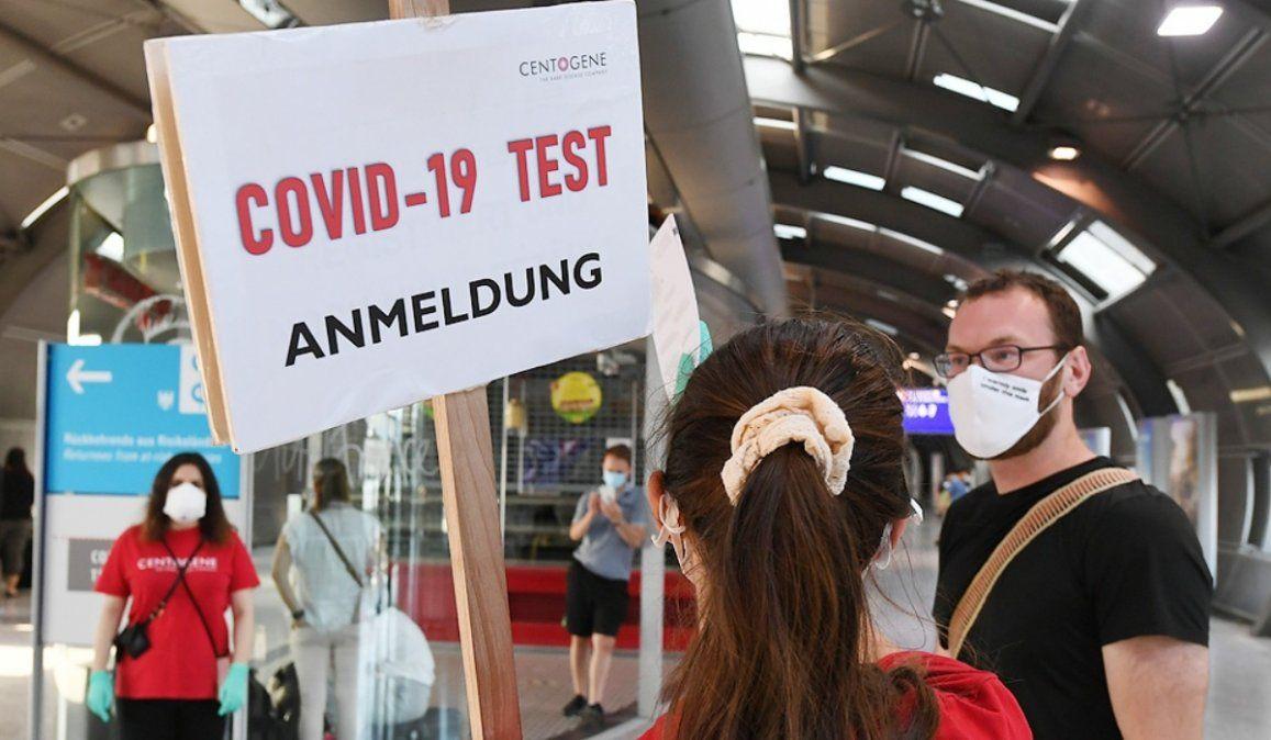 Alemania supera por primera vez los 7.000 casos diarios