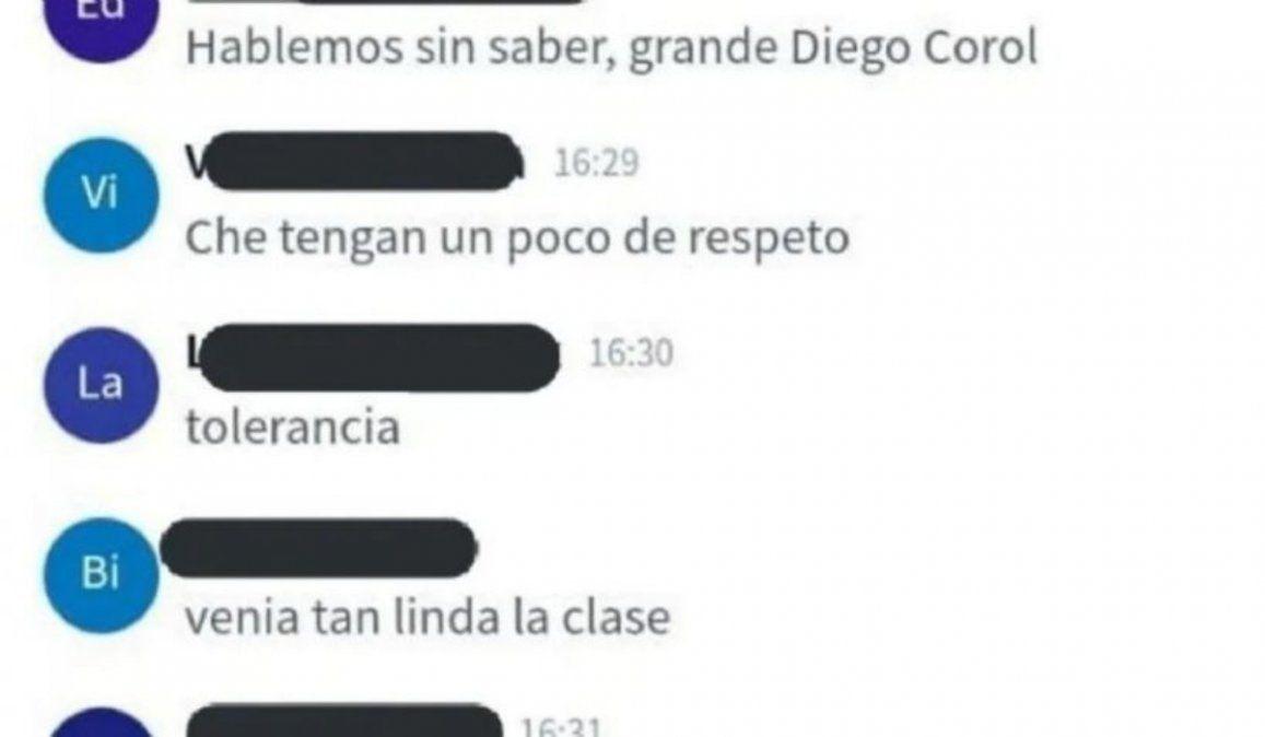 A un alumno no le gustó lo que decía el profesor y lo mató