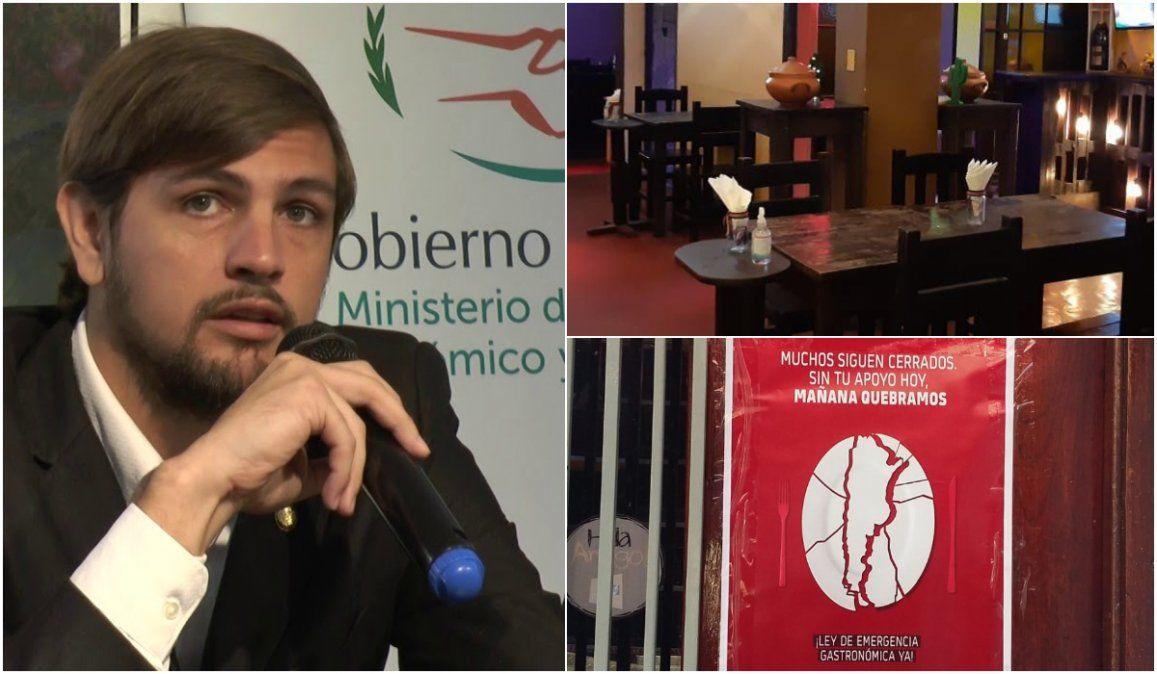 Gastronómicos piden la renuncia del ministro de Producción