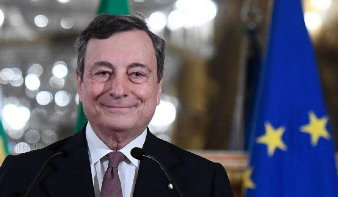 Mario Draghi juró como nuevo primer ministro de Italia
