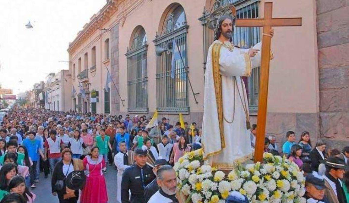 Así será el recorrido del Santísimo Salvador por los barrios de Jujuy