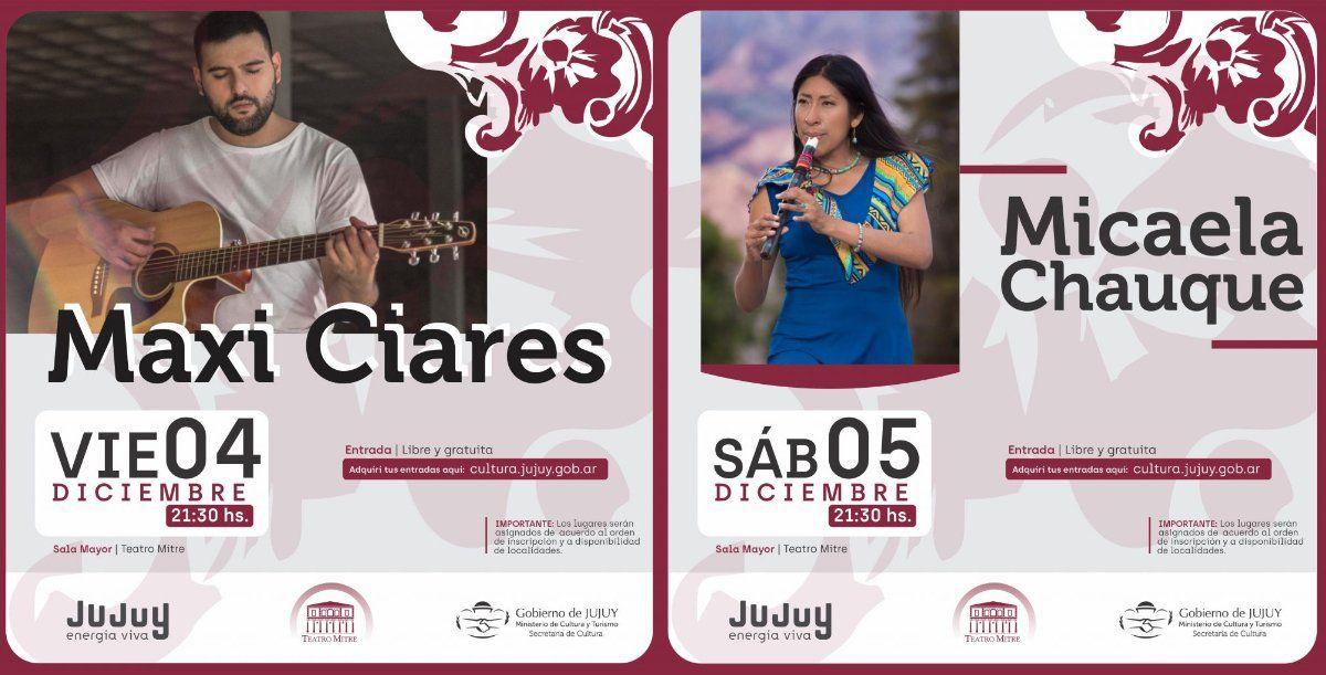 El Teatro Mitre presenta a grandes artistas locales este fin de semana