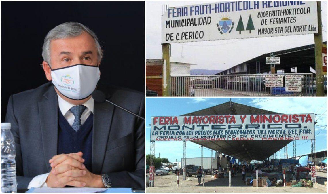 Marcha atrás del gobierno: habilitan las ferias de Perico y Monterrico