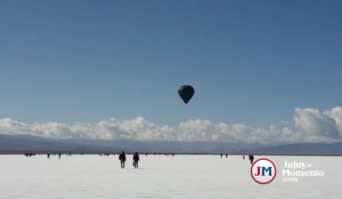 Se estrena en Berlín el film Pacha del histórico vuelo solar en Salinas Grandes