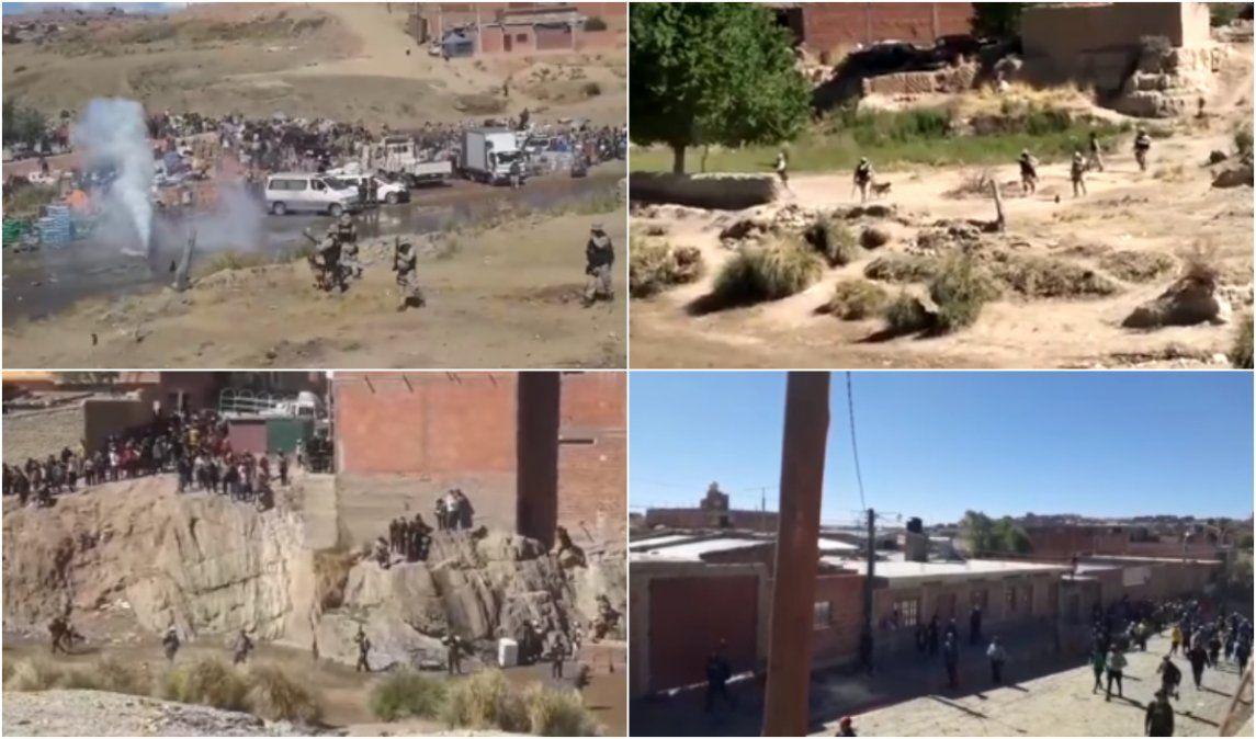 Descontrol en la frontera: la policía se enfrentó con contrabandistas