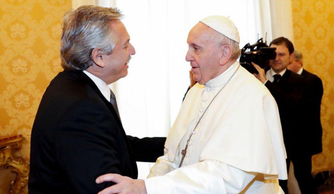 Alberto Fernández prepara su encuentro con el Papa tras la ley del aborto