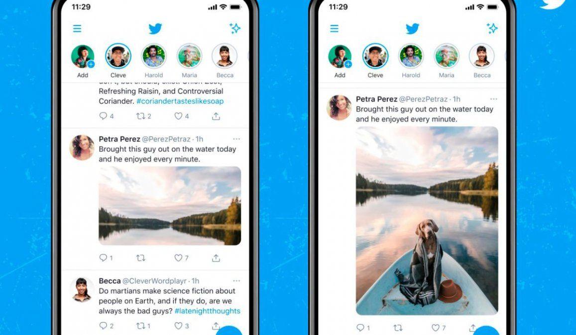 Twitter finalmente mostrará imágenes a tamaño completo