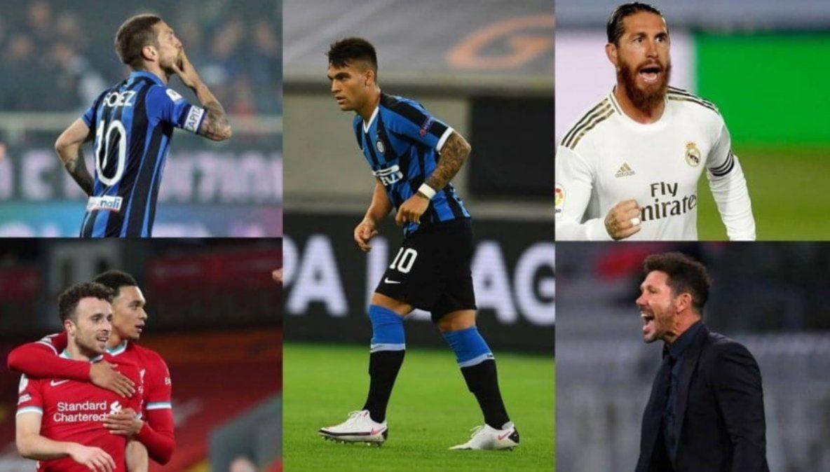 Sigue el show de la Champions con presencia argentina