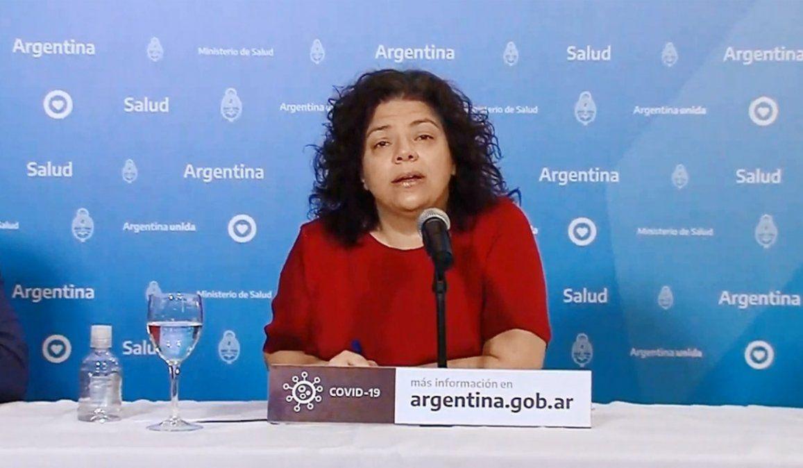 Se registraron 49 muertes y suman 12.705 los fallecidos en Argentina