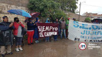 El Carmen: sigue el paro de municipales por el pase a planta