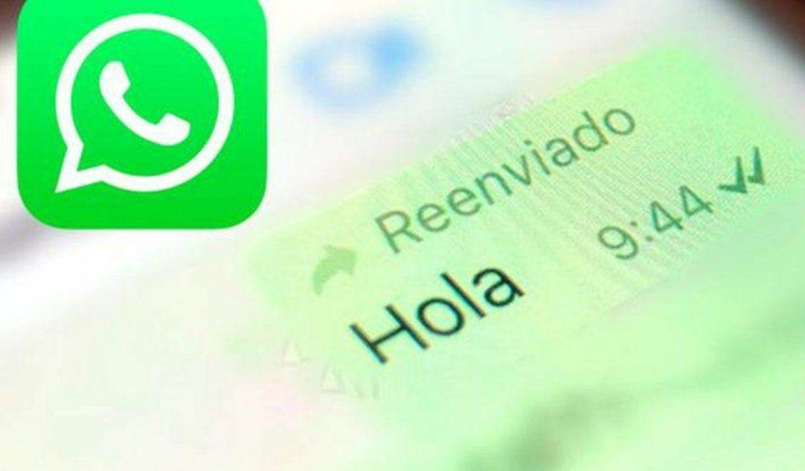 Cómo volver a mandar un mensaje de WhatsApp sin que salga Reenviado