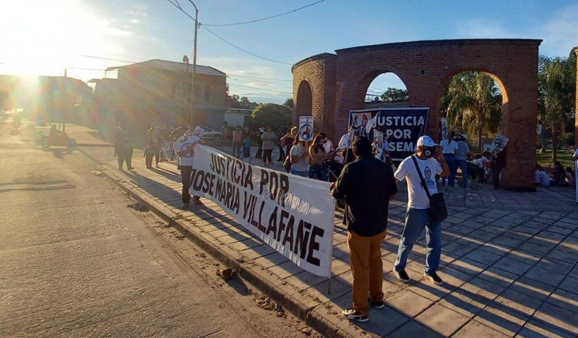 A un año del violento crimen, pidieron justicia por José María Villafañe
