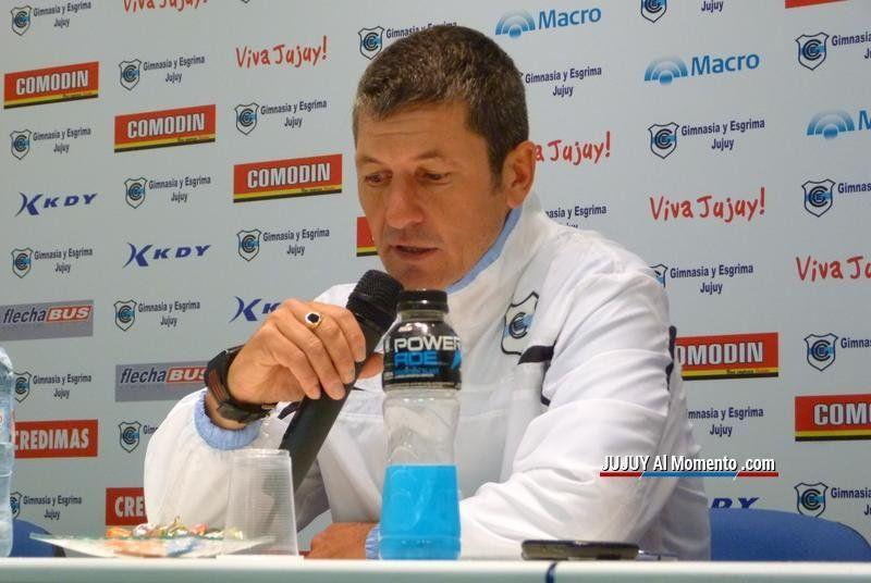 Mario Sciacqua será nuevamente DT de Gimnasia