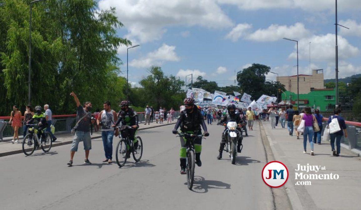 Morales ordenó un megaoperativo de seguridad por la marcha de Milagro Sala