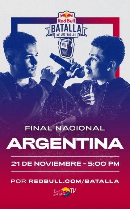 Red Bull Argentina será transmitida por la TV Pública