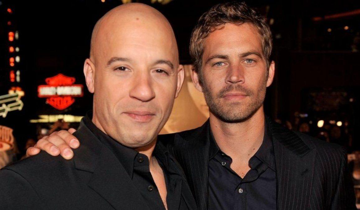 Emotivo recuerdo de Vin Diesel a siete años de la partida de Paul Walker