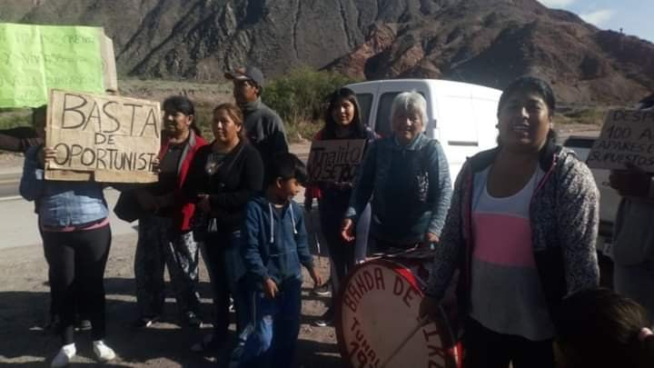 """""""Basta de oportunismo"""", el reclamo de vecinos por el paso desde Tunalito"""